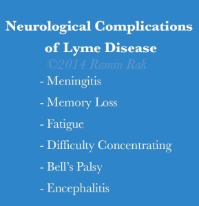 Neurological Complications of Lyme Disease